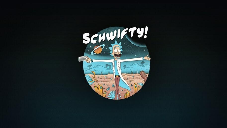 Schwifty Rick Sanchez Rick And Morty 4k Wallpaper 5115