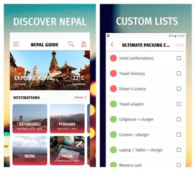 Nepal travel offline