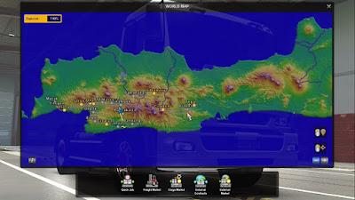 Map Javalova Gen 1.5 - ETS2 1.30 to 1.38
