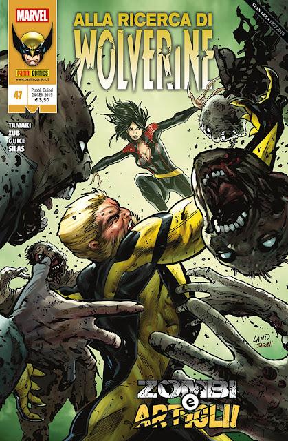 WWolverine #47: Zombi e Artigli