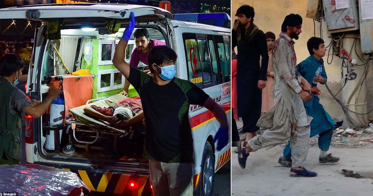 At Least 60 Killed Including 13 US Soldiers In ISIS Suicide Bomb Attack At Kabul Airport
