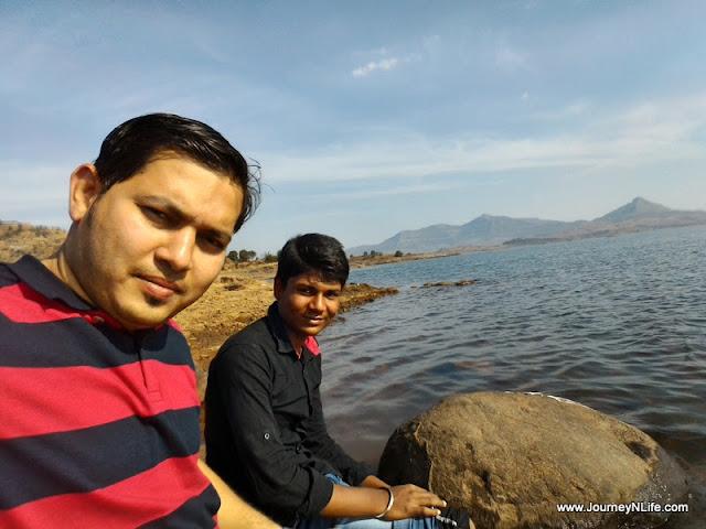 Pavana dam backwaters @ Samadhan Restaurant