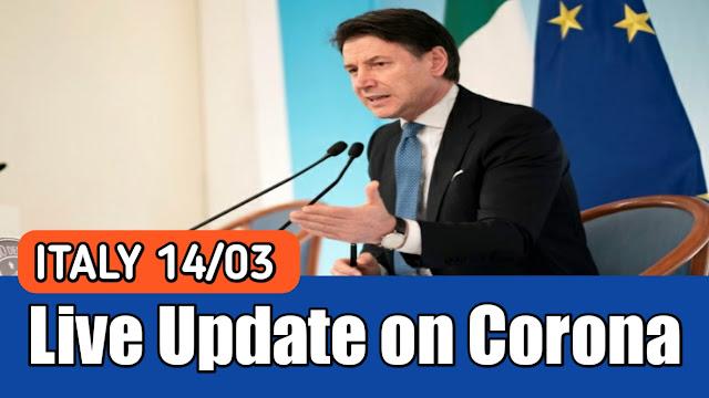 ITALY Update 14/03/2020