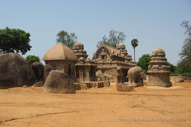 UNESCO World Heritage Sites in India - Mahabalipuram Pancha Ratha
