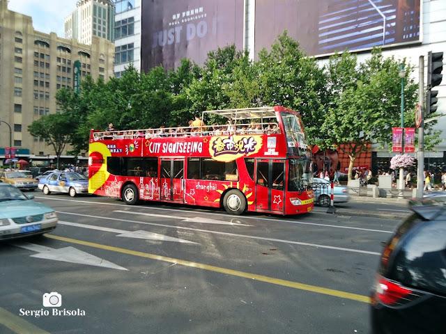 City Sightseeing Bus in Shanghai
