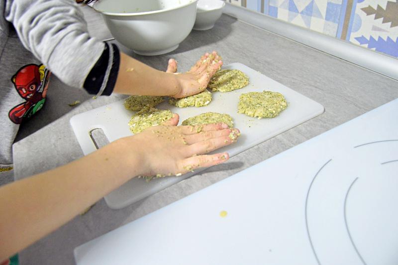 receta cocina con ninos hamburguesa pescado comida sana