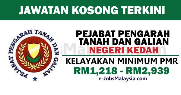 Pejabat Pengarah Tanah dan Galian Negeri Kedah