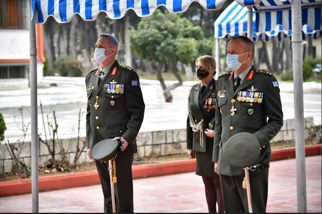 Βέροια: Τελετή παράδοσης - παραλαβής στην 1η Μεραρχία (ΦΩΤΟ)
