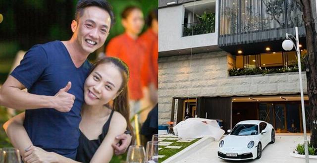 Hé lộ biệt thự 'khủng' vừa hoàn thiện của Cường Đô La - Đàm Thu Trang