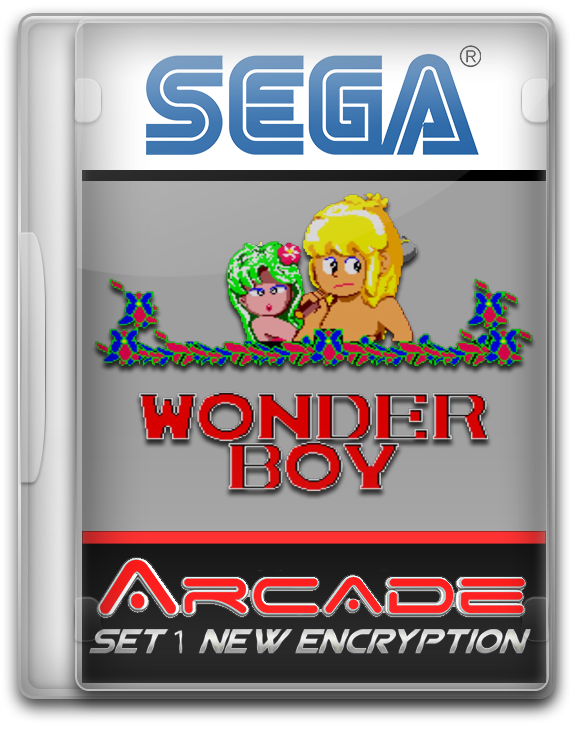 Wonder Boy (Set 1 New Encryption)