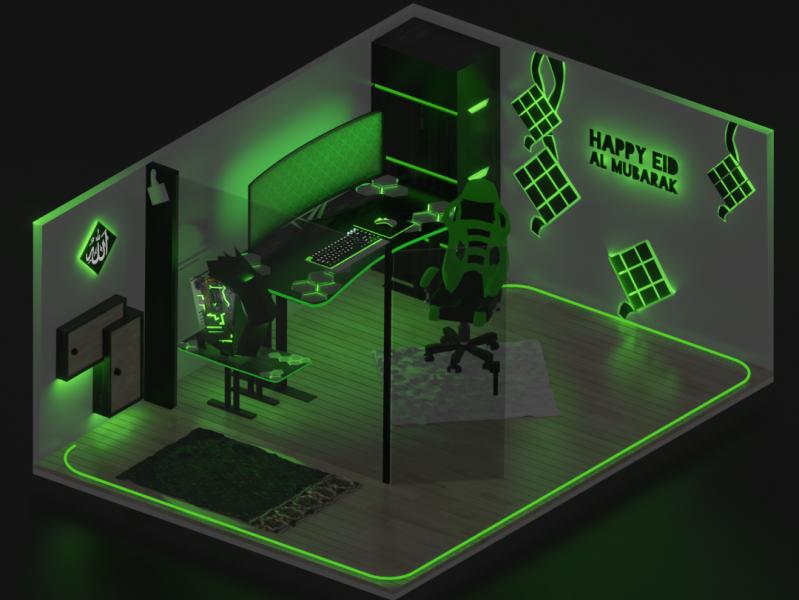 Thiết kế phòng game – hình 1