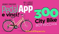 Logo '' Grande Concorso PedalAPP e Vinci'' : in palio 300 City Bike