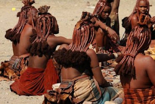 Hilarious!!! Meet The Himba Tribe Who Don't Take Baths And Offer Free S*x To Guests