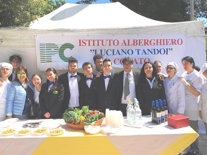 Gli studenti dell'IISS Oriani-Tandoi a Matera per promuovere Corato