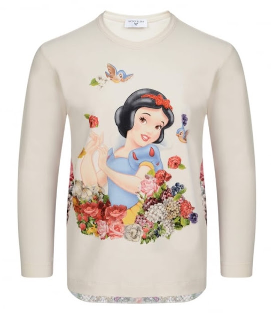 girls snow white top