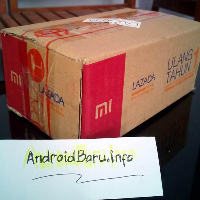 Paket Redmi 2 Prime dari Lazada Indonesia