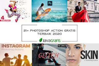 20+ Photoshop Action Gratis Terbaik 2020