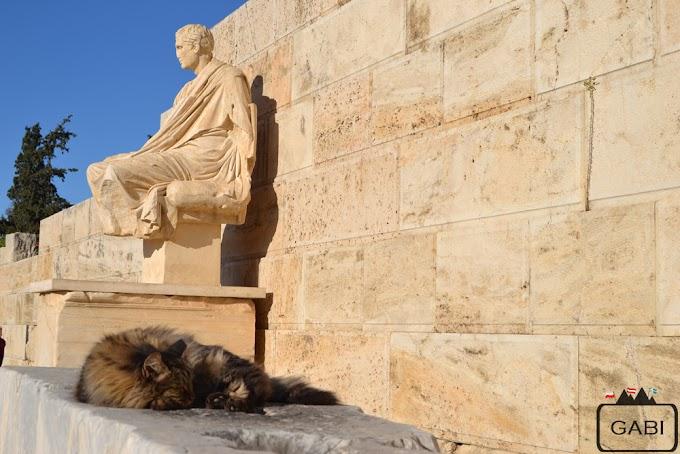Grudniowy dzień w Atenach