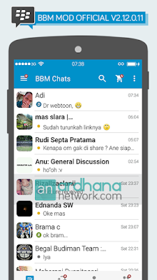 Preview BBM MOD Official V2.12.0.11