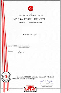 A'dan Z'ye Espor Türk Patent Marka Tescili
