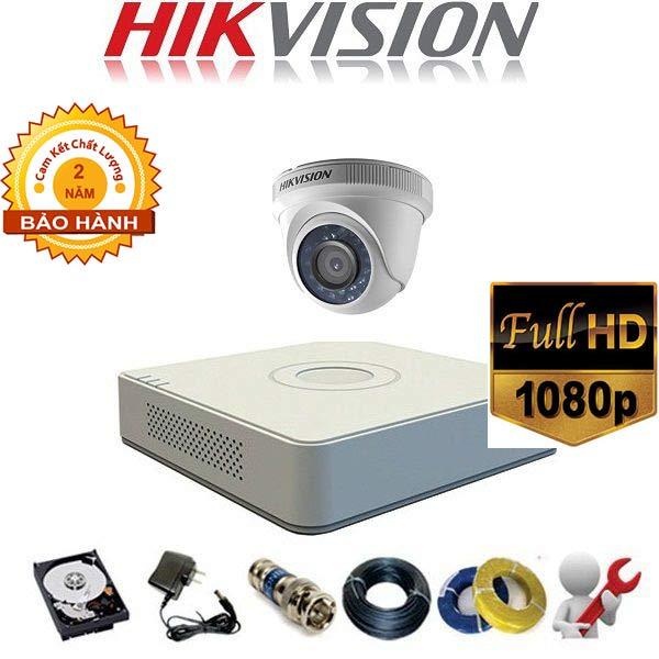 trọn bộ 1 camera hikvision tại bến tre