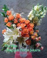 Orange Rose Keren Ucapan Selamat Happy Anniversary