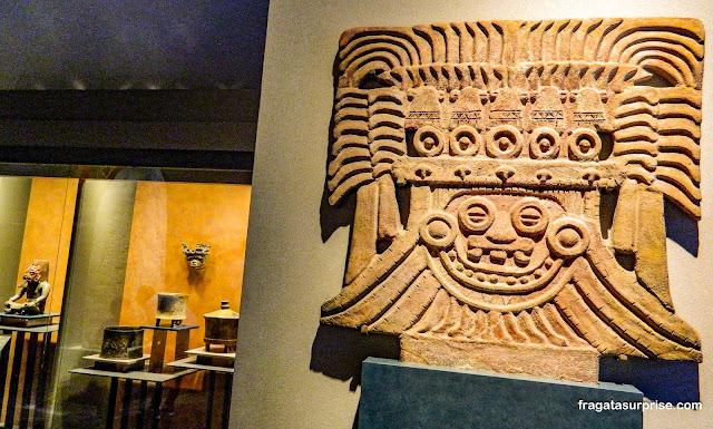 Tlaloc, Deus da Chuva de Teotihuacán no Museu Nacional de Antropologia do México