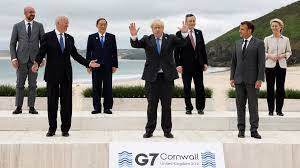 G7 to Counter China's belt and road initiative, supporting Biden infrastructure plan