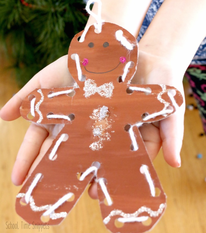 non-edible gingerbread ornament
