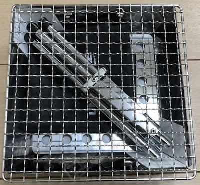 ソロキャンプ用 ユニフレーム ファイアグリルソロ使用レビュー
