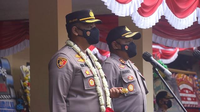 Kapolres Purbalingga Resmi di Pimpin AKBP Era Johny Kurniawan