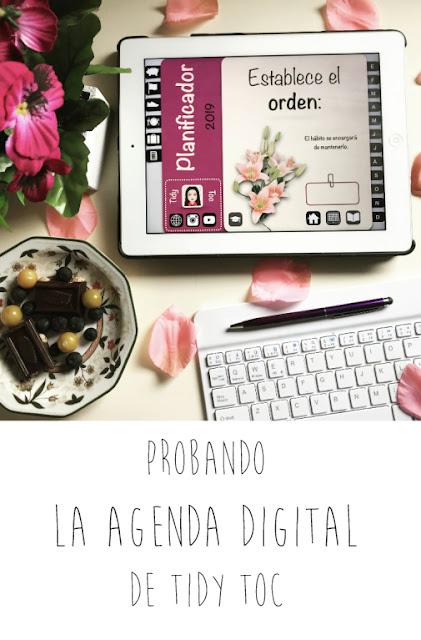 Probando la agenda digital de Tidy Toc