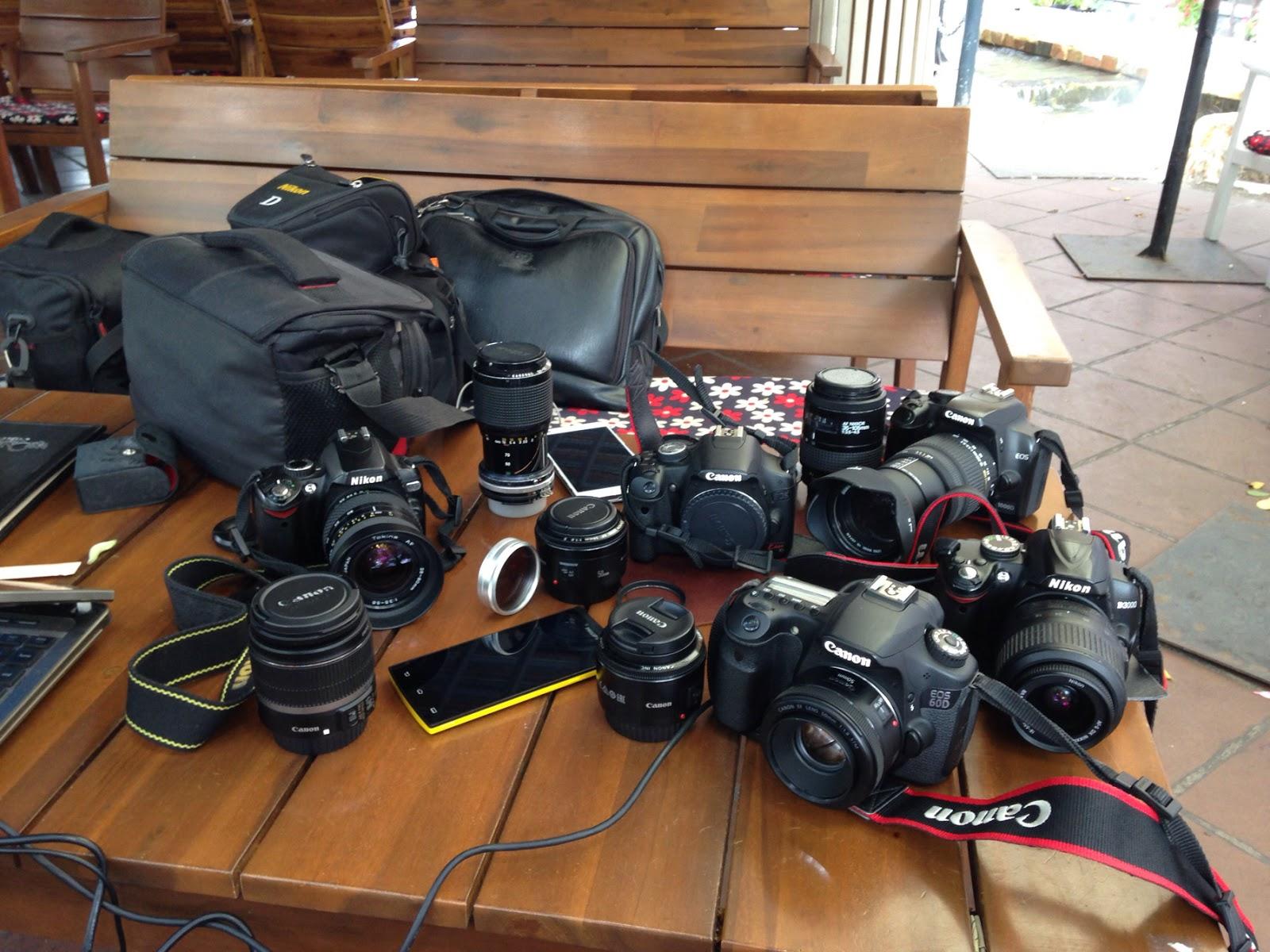 Cho thuê máy ảnh DSLR đáp ưng hầu hết các nhu cầu cơ bản của dân