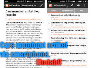 Download aplikasi ngeblog di hp