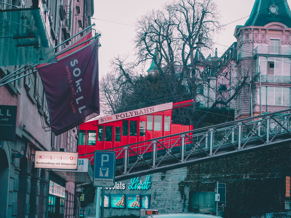 zurich - blog voyage - laquotidiennedele - polybahn