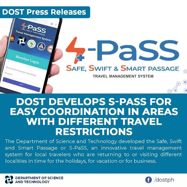 DOST develops S-PaSS