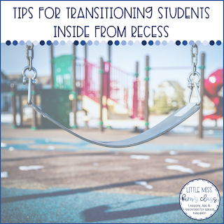 Behavior Tips for Special Education