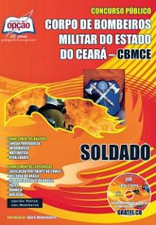 Apostila concurso CBMCE Bombeiros Ceará - 2018