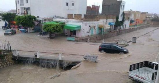 موجة أمطار tunisie