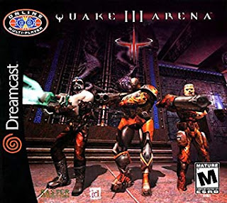 Quake III Arena Dreamcast cover art