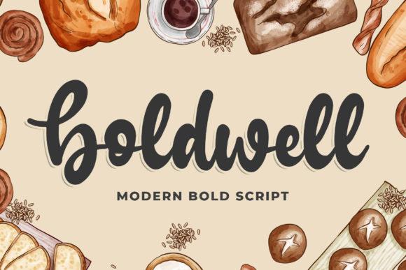 Boldwell Handwritten Font