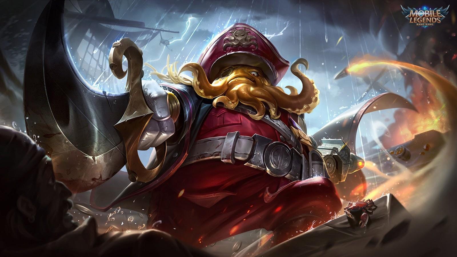 Wallpaper Bane Warlord Season 11 Mobile Legends Full HD for PC