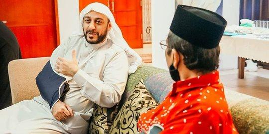 Sempat Bertemu, Mahfud MD Ungkap Niat Syekh Ali Jaber Sebelum Wafat