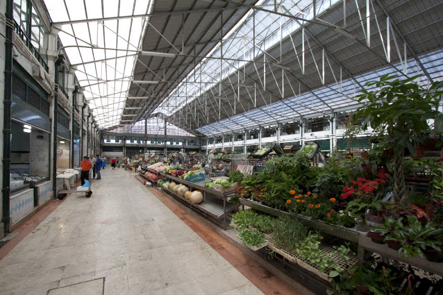 Mercado da Riberira-Lisbona