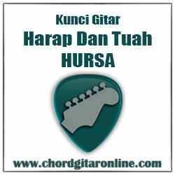 Kord Lagu Dasar Mudah Simple Versi Original Kunci Gitar HURSA - HARAP DAN TUAH