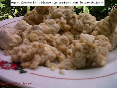 Resep Ayam Goreng Saus Mayonaise