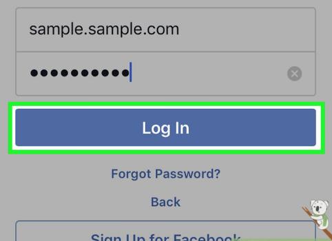 Facebook My Login Page