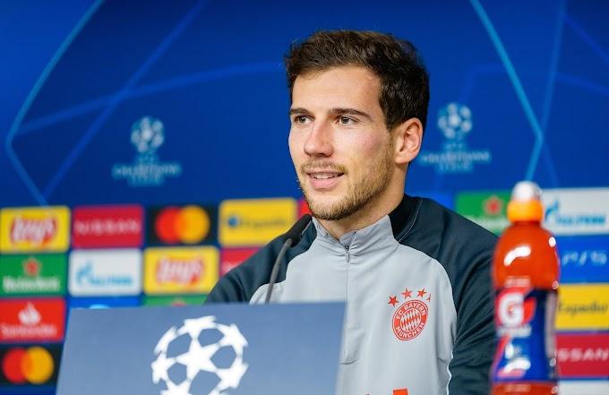 Leon Goretzka estende seu contrato com o Bayern de Munique até 2026