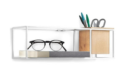 Cubist Floating Wall Shelf:
