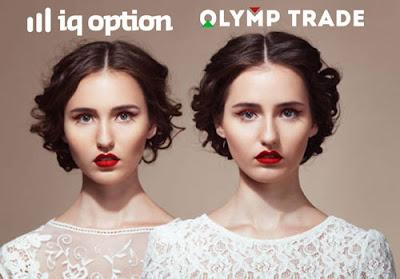 مقارنة بين IQ Option و OlympTrade من الأفضل